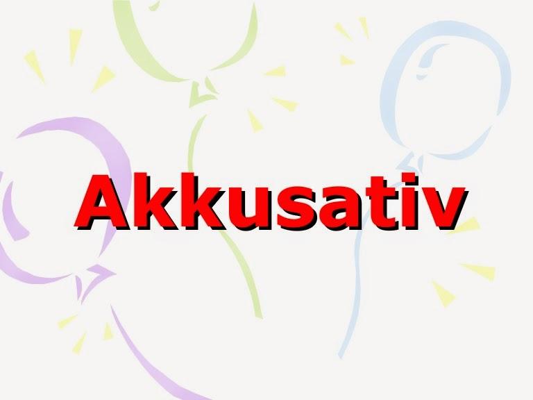 مفعول یا  آکوزاتیو Akkusativ در آلمانی